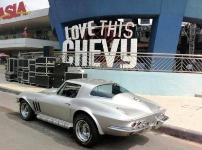 Corvette of Fred Ibay