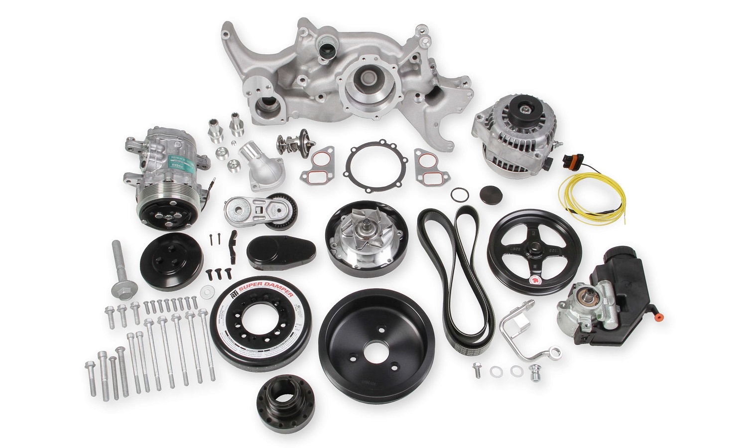 Holley Releases Gm Ls Complete Mid Mount Accessory Drive