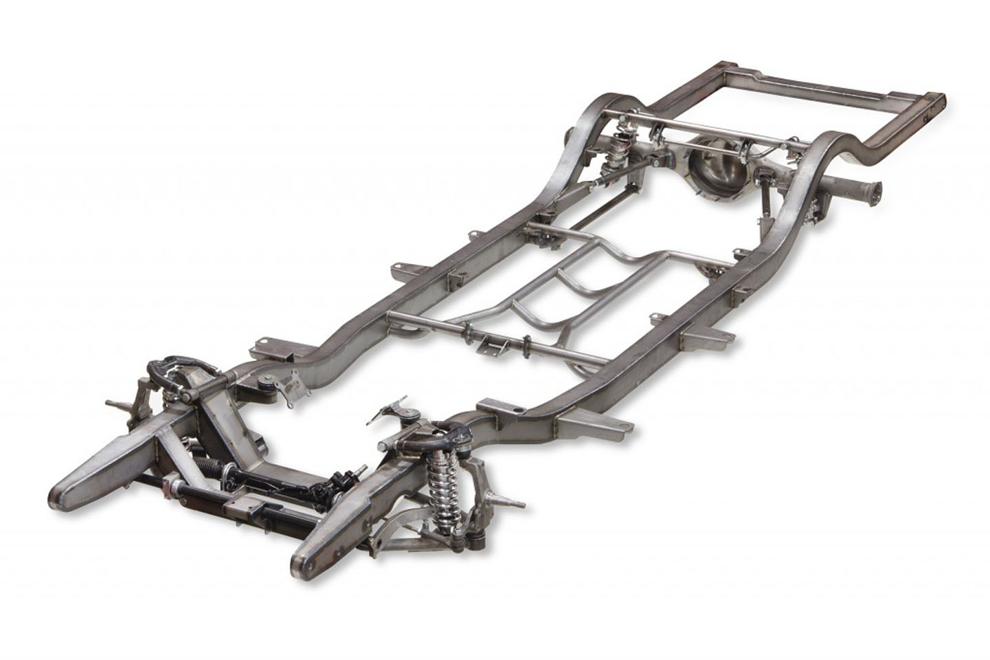 Heidts Tri Five Pro G Chevy Frame Is A One Stop Solution