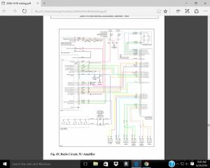 2010 chevy hhr stereo wiring diagram  Chevy HHR Network