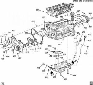 2007 Chevy HHR LS Engine Oil Switch Leak, Dirty Air