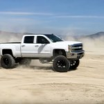 Vanilla Cream Lifted Chevy Duramax Donuts Chevytv