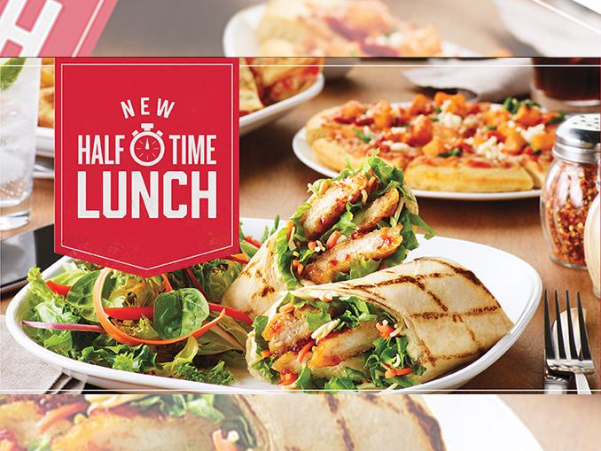 Lunch Menu Boston Pizza