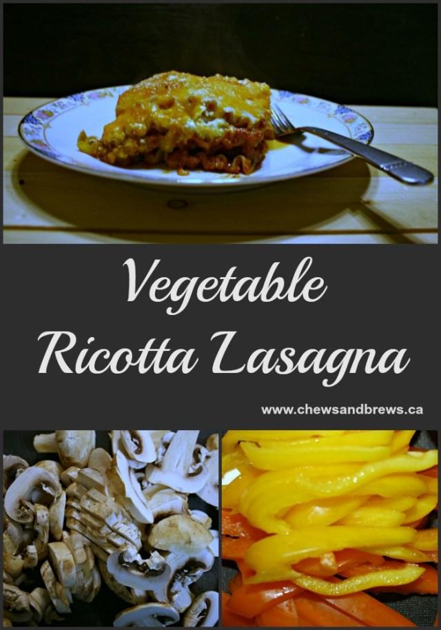 vegetable ricotta lasagna