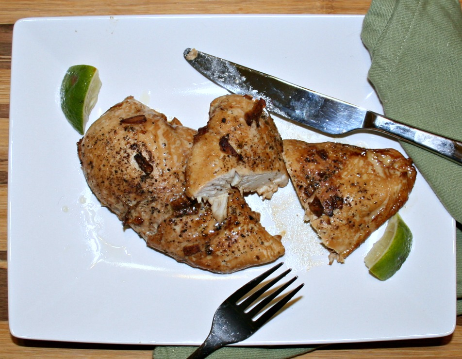Ginger Lime Chicken - Healthy and Easy