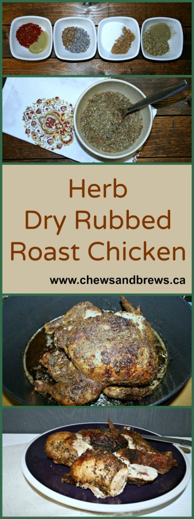 Herb Rubbed Roast Chicken
