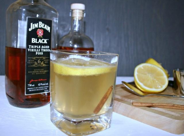 cinnamon bourbon toddy