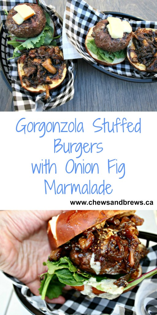 Gorgonzola Stuffed Burger