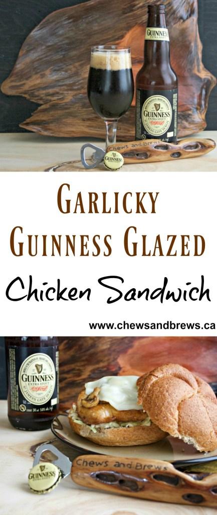 Garlicky Guinness Glaze
