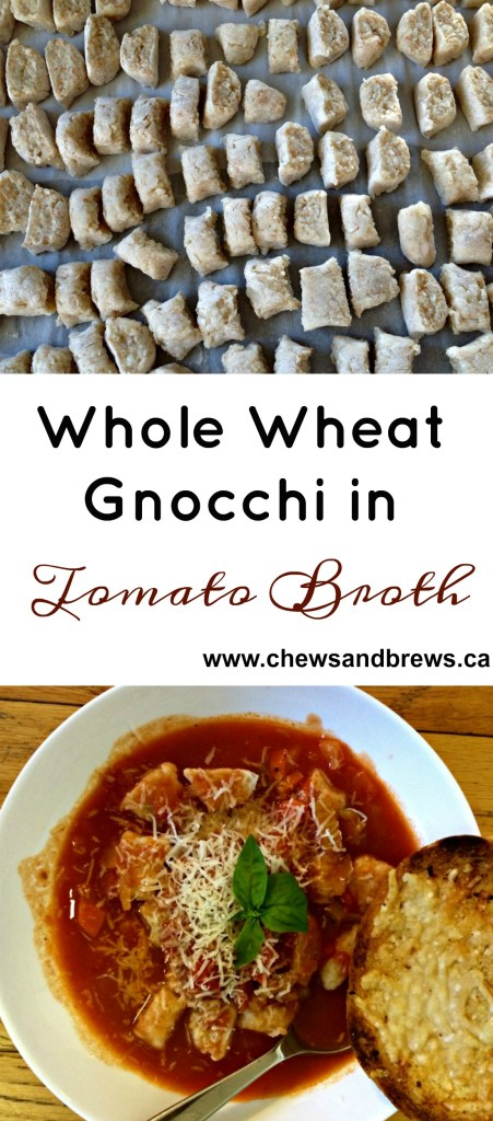 whole wheat gnocchi