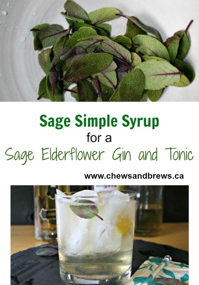 Sage Simple Syrup