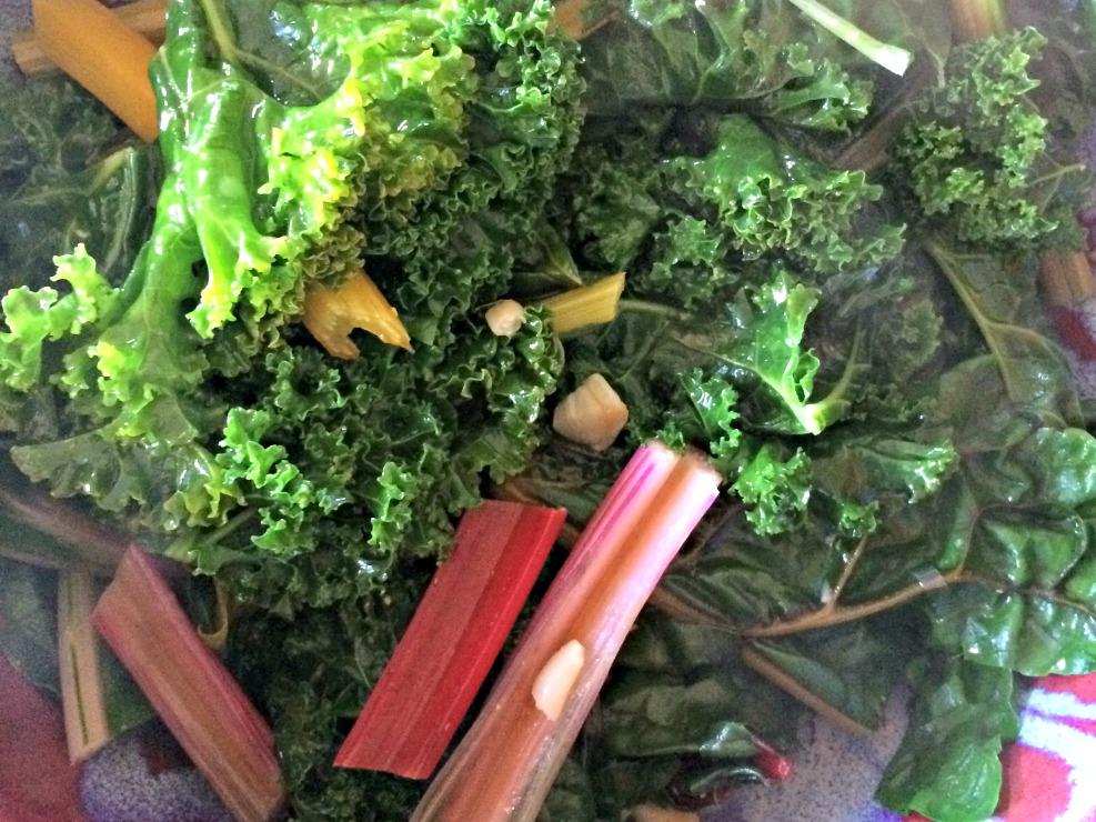 Sautéed Kale and Chard
