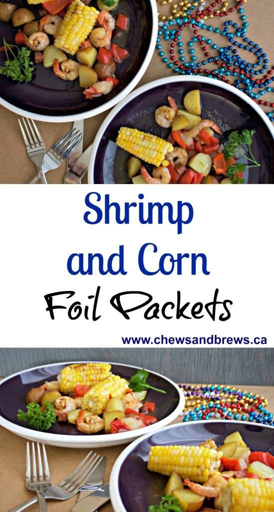 Shrimp and Corn Foil Packs