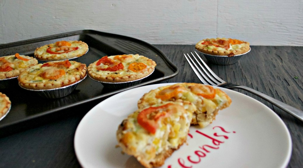 Cheesy Grilled Corn Mini Tarts