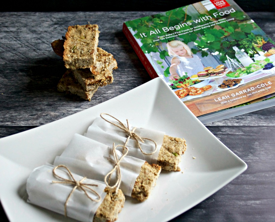Peanut Butter Protein Bars ~ Cookbook Review & Giveaway!
