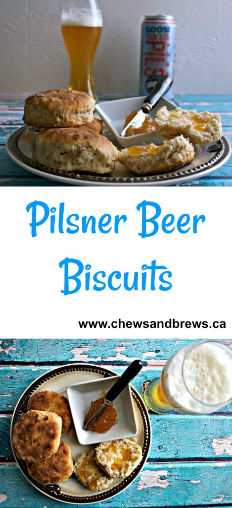 Pilsner Beer Biscuits