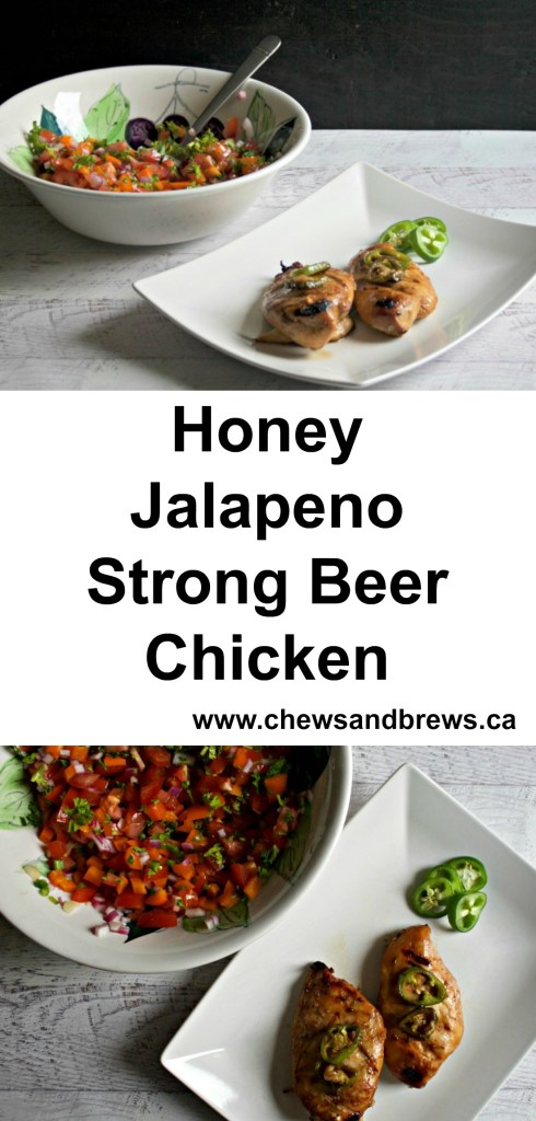 honey jalapeno strong beer chicken