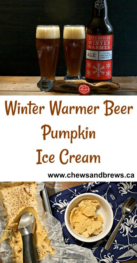 Winter Warmer Beer Pumpkin Ice Cream
