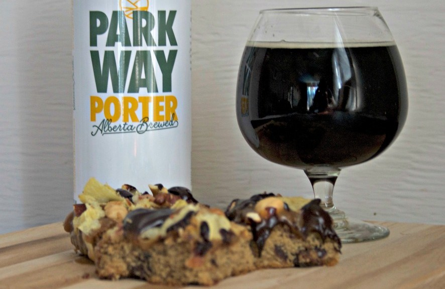 Pub Snacks Beer Cookie Squares