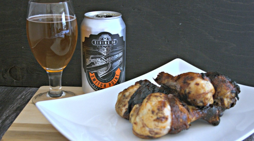 Honey Cream Ale Grilled Drumsticks