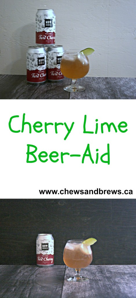 Cherry Lime Beer-Aid