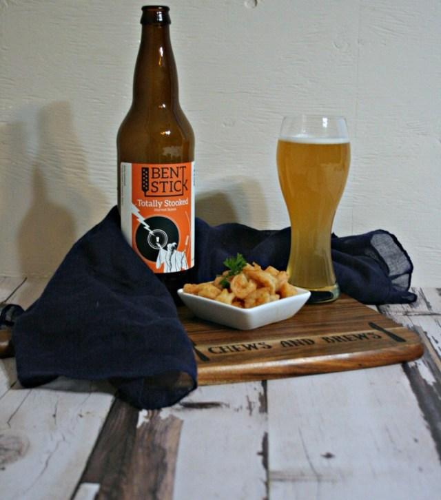 Saison Beer Sauteed Chili Shrimp