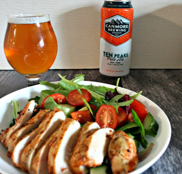 Pale Ale Yogurt Marinated Chicken Breasts