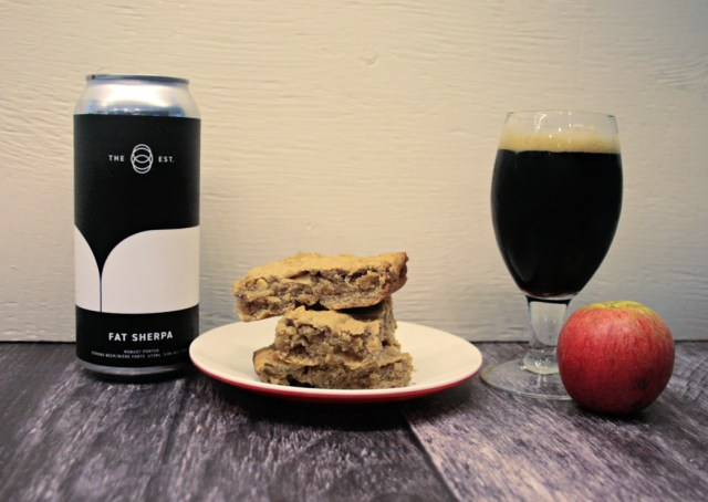 Super Simple Porter Beer Apple Bars