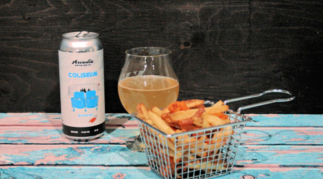 Blonde Ale Air Fryer French Fries