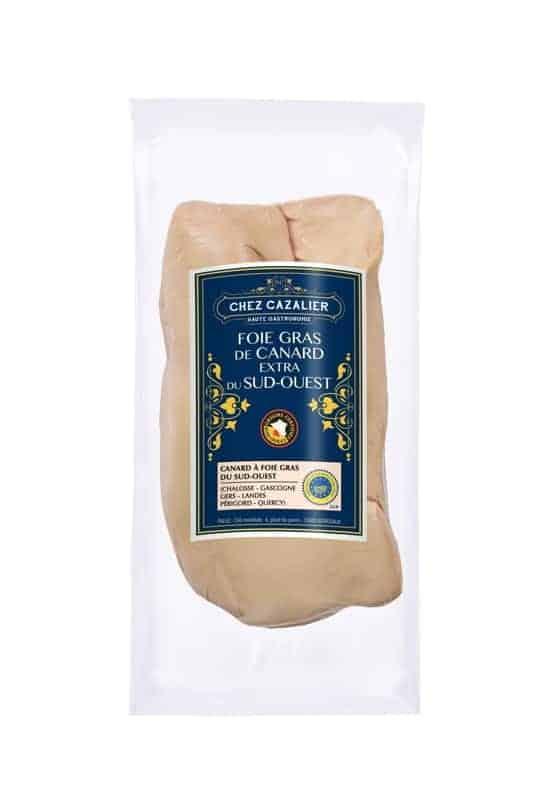 Foie gras de canard extra du sud-ouest