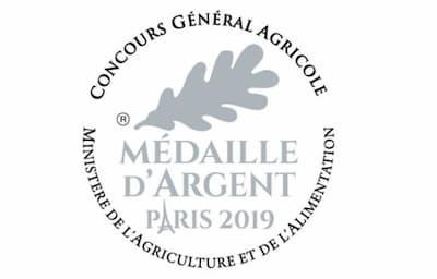 Médaille d'argent du Concours Général Agricole 2019