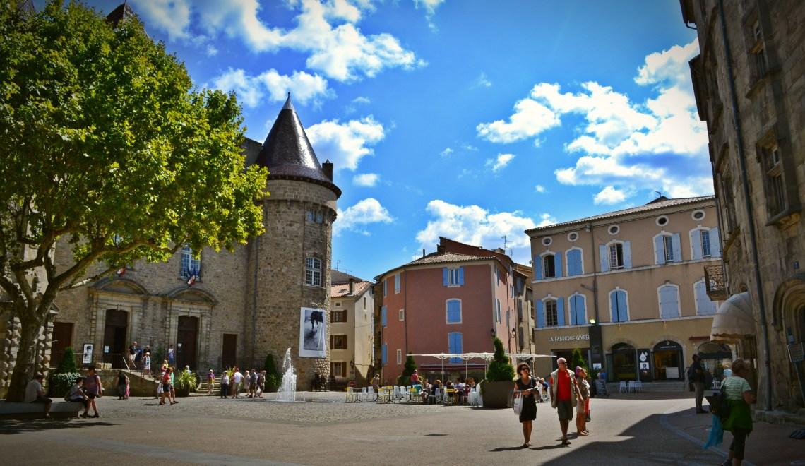 Travelling in Ardèche: Aubenas