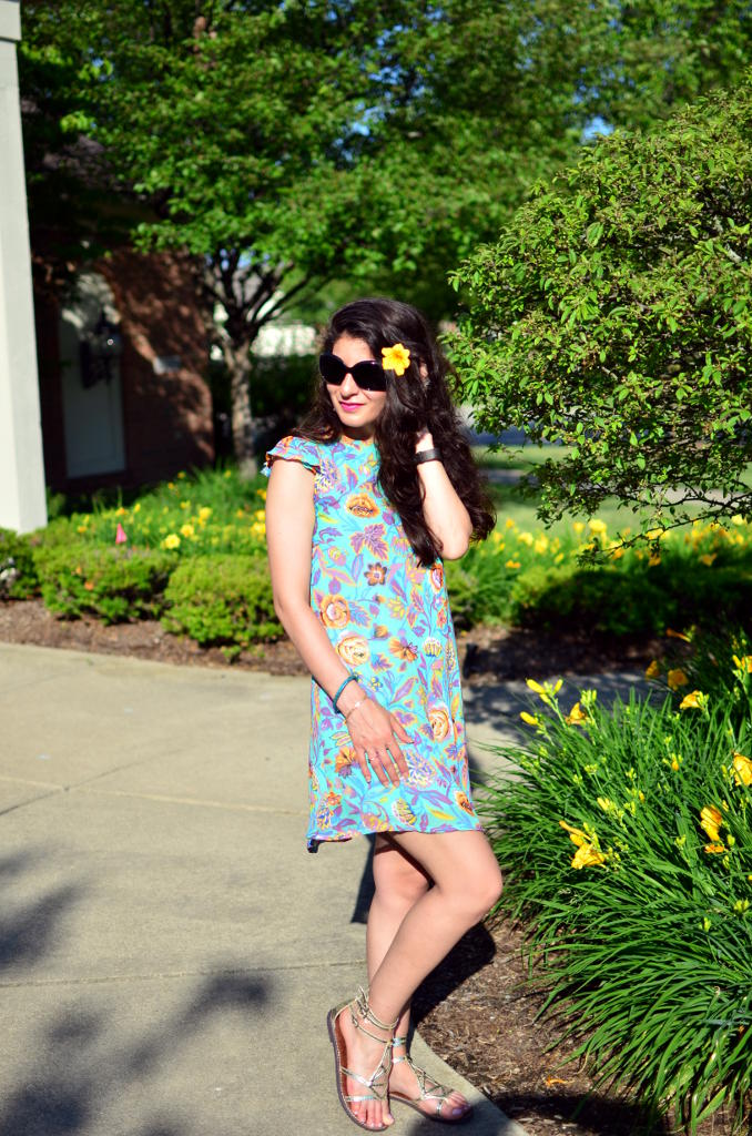 FLORAL DRESS FOR ANY OCCASION