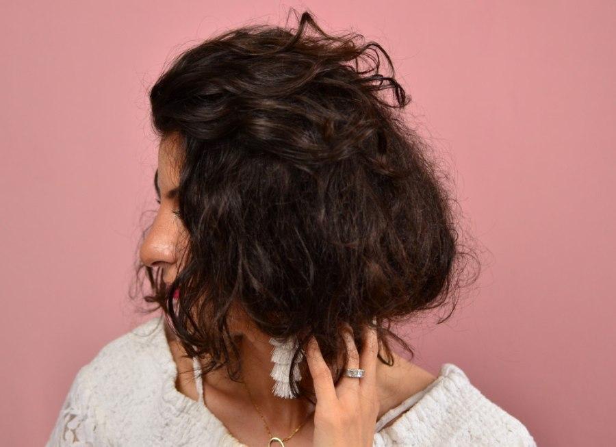 How to fake a short hair-Faux bob