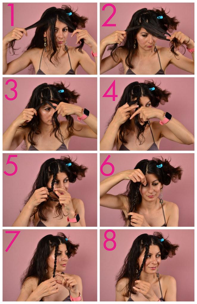 simple natural wavy hair