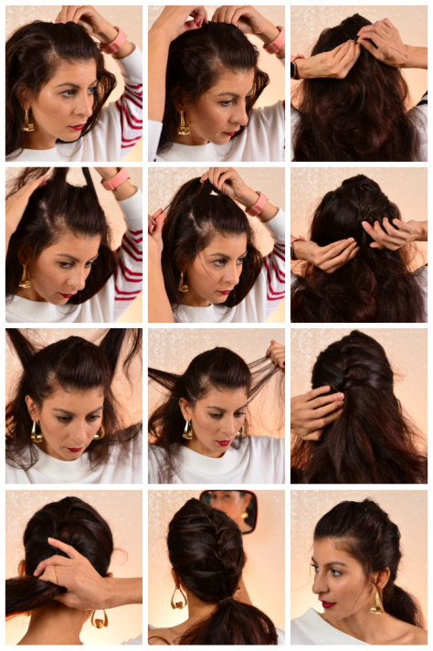 Cute and easy bobby pin hairstyles, 3 new hairstyles you can do in ...