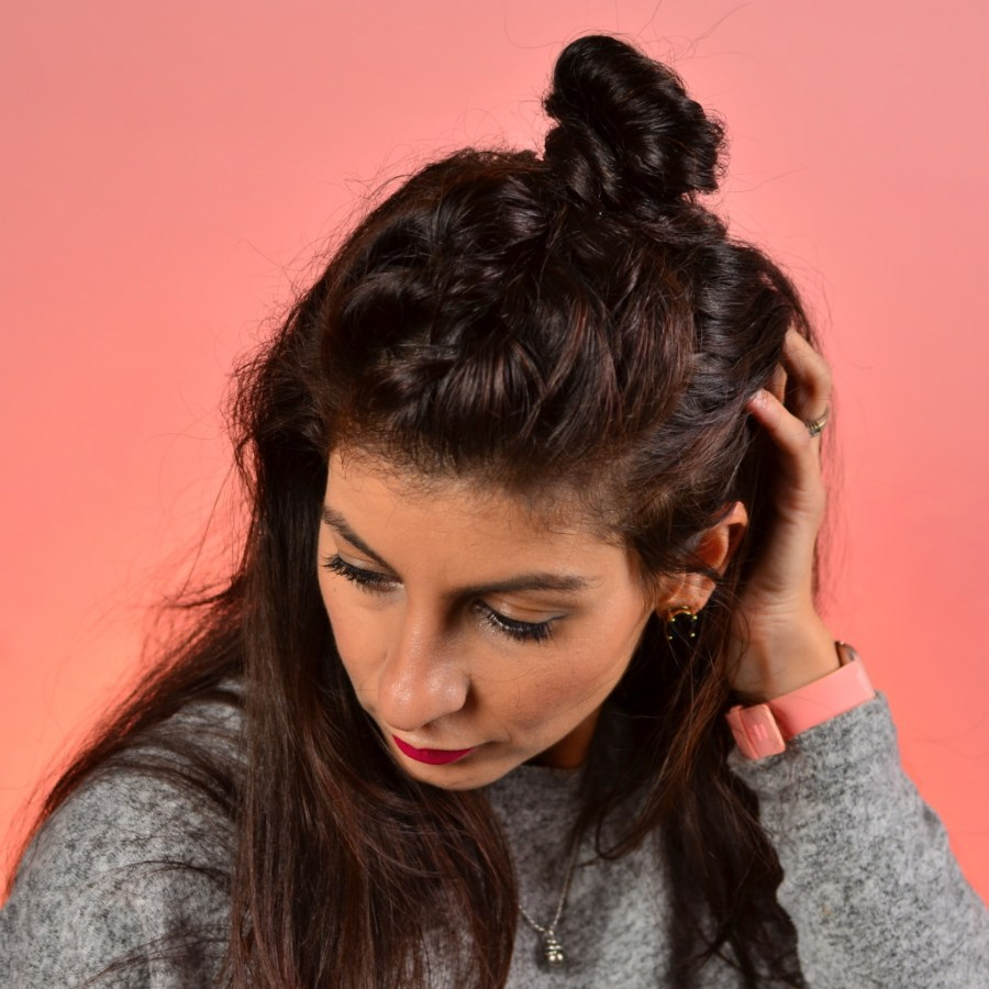 Lazy hairstyle to do at home-3 hairstyles for any hair|thanksgiving hairstyle