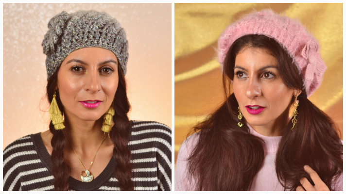 Hairstyles With Beanie And Beret Easy Hairstyles With Winter Hats