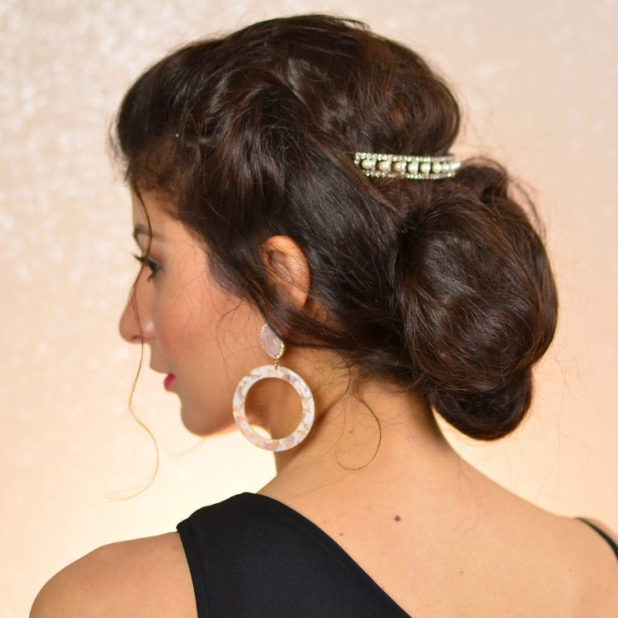 Easy Hairstyles For Curly Hair To Do At Home Health Issue Chez Rama