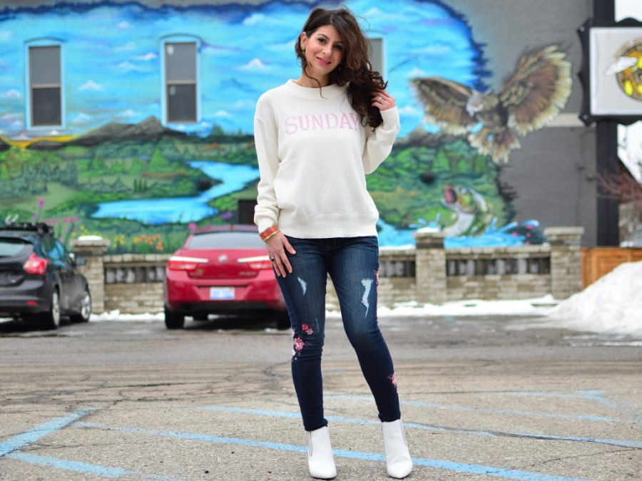 White booties trend: Transit your winter boots to spring