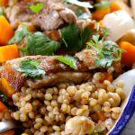 Maftoul, Lebanese, Palestinian Couscous