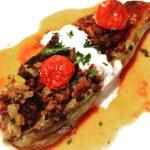 Instagram料理教室 Karnıyarık カルヌヤルク茄子の肉詰め