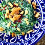 Yoğurtlu Ispanak Salatası, again