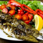 Asma Yaprak Sanma, Pacific Saury Rolled with Brined Grape Leaves