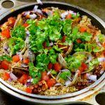 Instagram料理教室 ポルトガル料理蛸ご飯