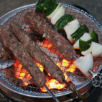 20200504七輪祭り2:炭火焼きケバブ