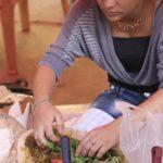 中東の無発酵パン生地