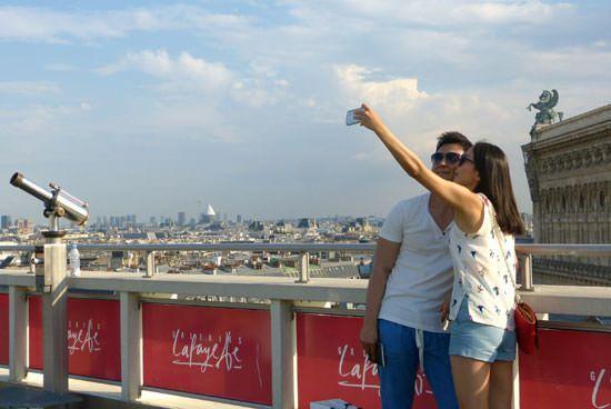 Selfie Paris Opéra