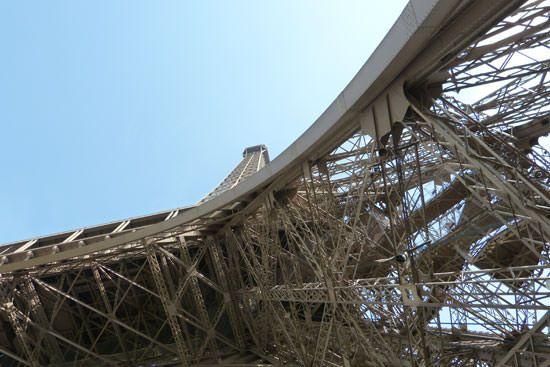 Structure de la Tour Eiffel