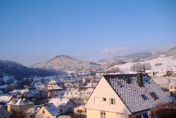 Orbey sous la neige